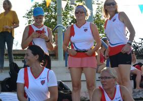 Vienna Dragon Ladies Team @Drachenboot Cup Ost