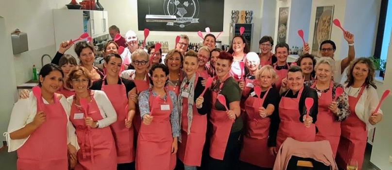 pink cooking