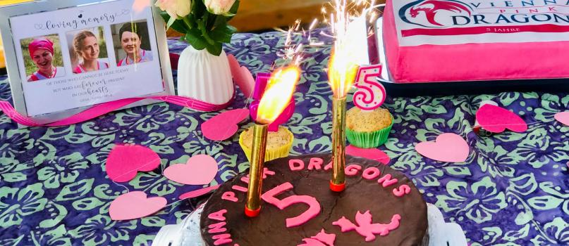 5 Jahre Vienna Pink Dragons